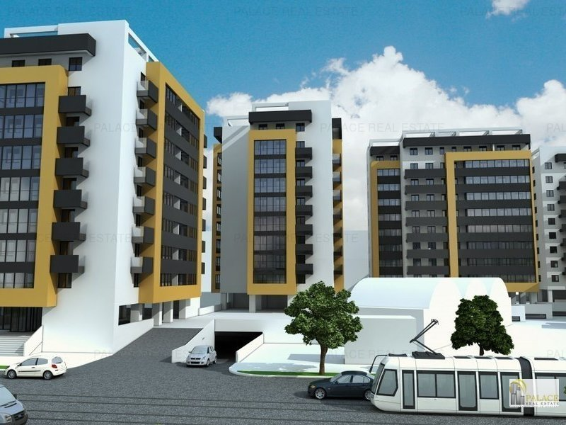 Apartament de vanzare, 2 camere, 41 mp, Pacurari bloc nou