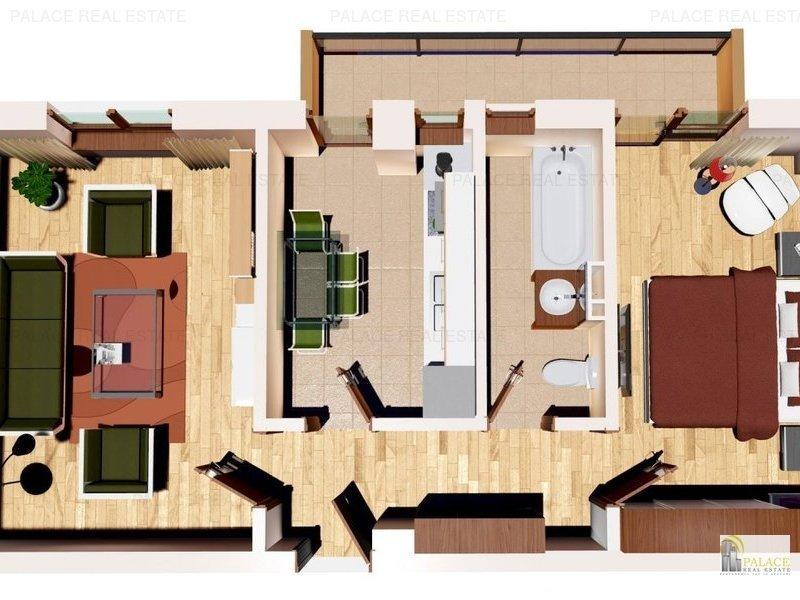 Comision 0% Apartament 2 camere   58 mp, Capat  Cug