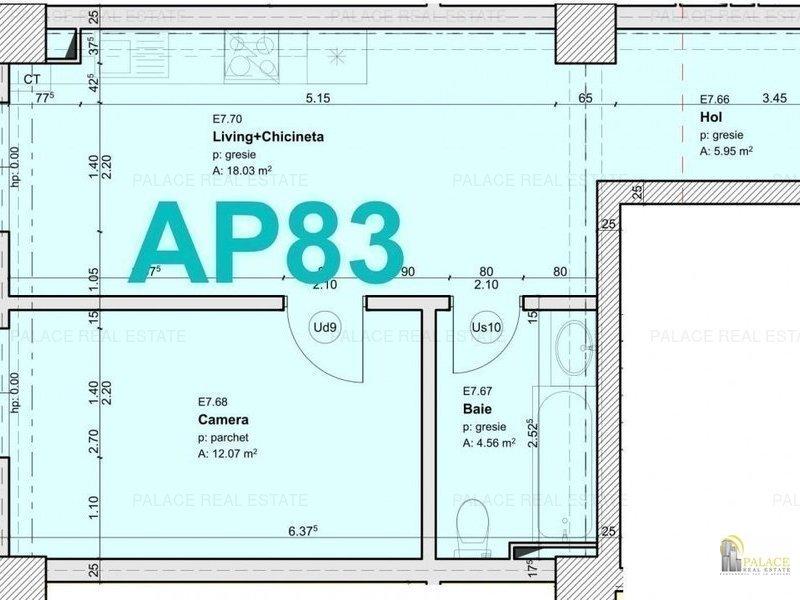 Comision 0%, 2 camere  49 mp, Park Residence, Copou  Universitate