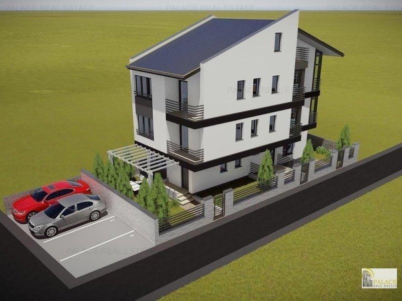 Apartament nou de vanzare, 1 camera, 21  mp  Nicolina