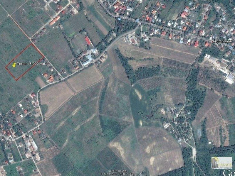 Vanzare teren 18000 mp Copou Al. M. Sadoveanu