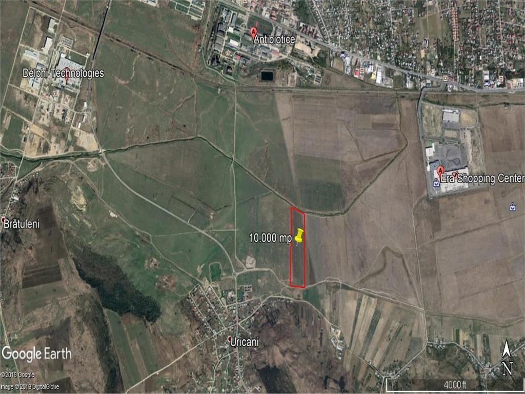 teren  10.000 mp langa  Soseaua de Centura a Iasului