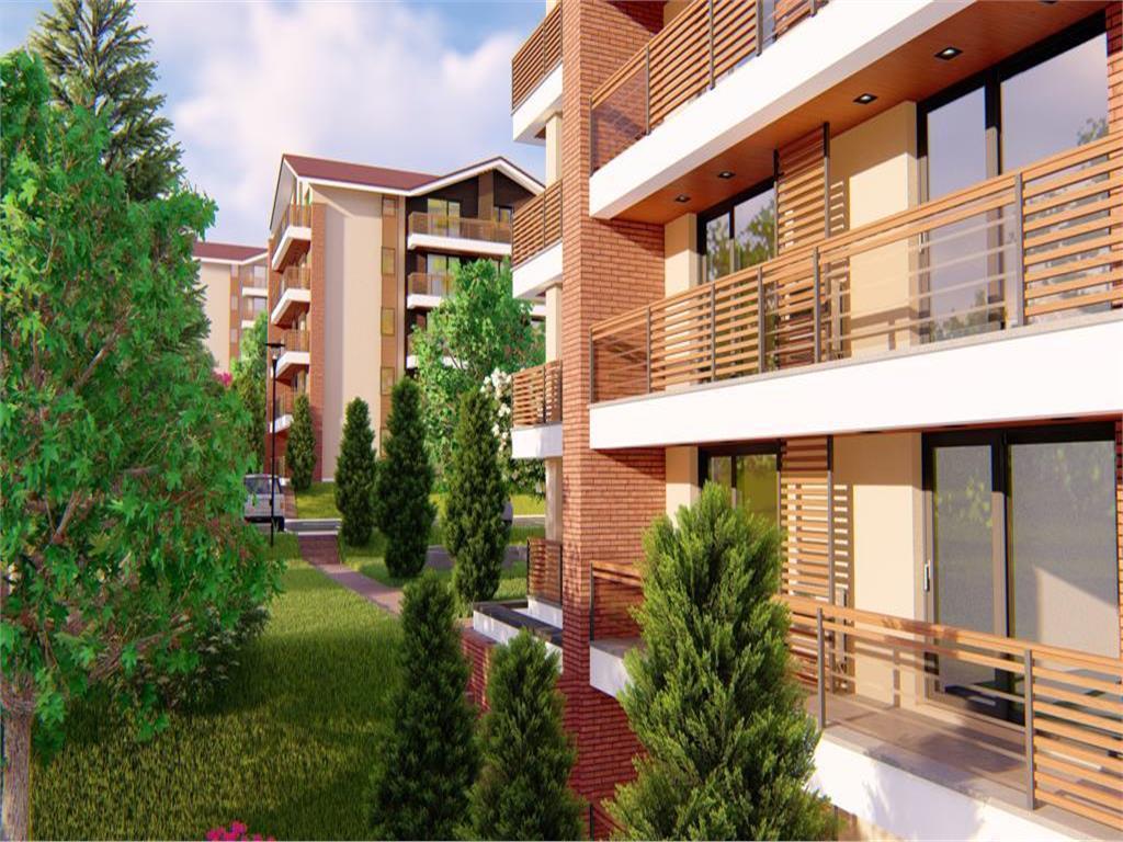 Apartament 1 camera, 48.3 mp , Bucium , Rate direct la dezvoltator