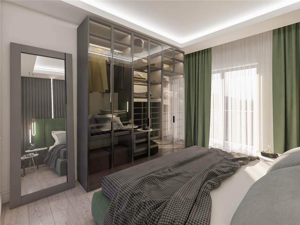 Apartament 2 cam decomandat 51.40 mp, bloc nou, Copou  Stadion