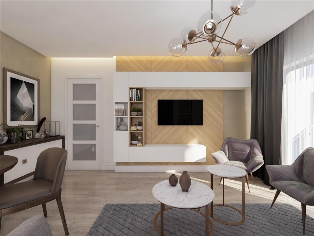Apartament 2 camere, 48.3 mp, bloc nou, Copou  Stadion