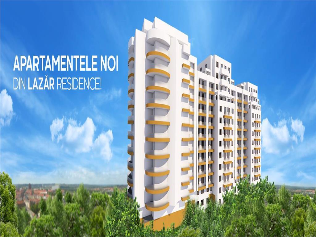 Apartament 1 camera, bloc nou, 35.85 mp, Centru  Palas
