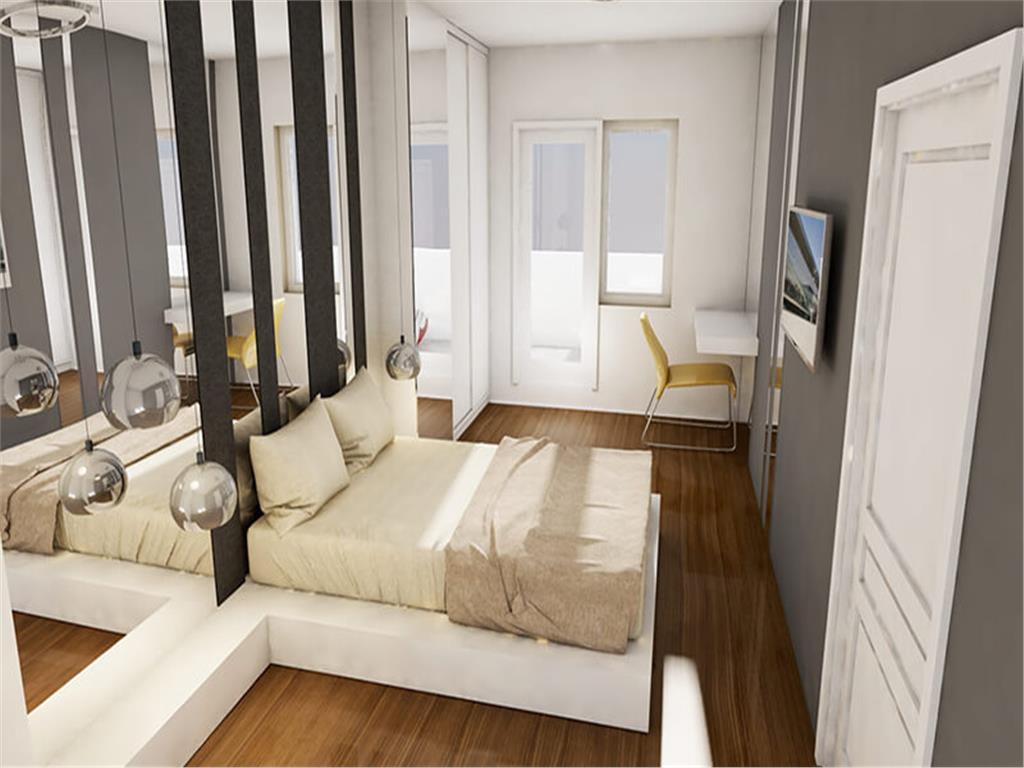 Penthouse 3 camere, 123 mp, Centru  Palas