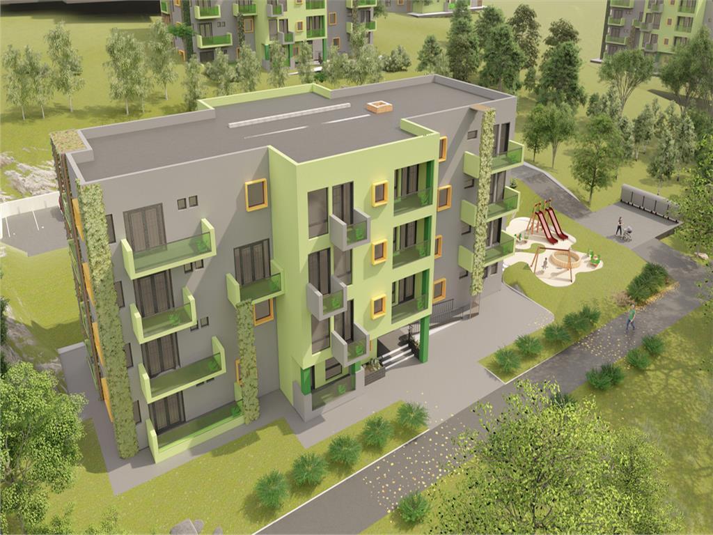 Comision 0, Apartament 1 camera, 37.63mp+6.15mp balcon, Copou