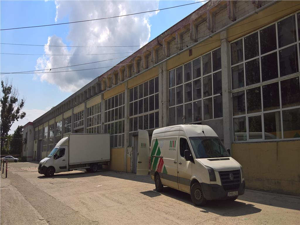 Inchiriere spatiu industrial 3162 mp, situat in zona industriala Iasi