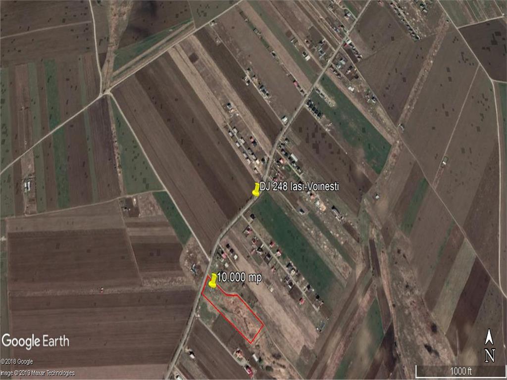 teren intravilan Miroslava, sat Vorovesti ,10.000 mp