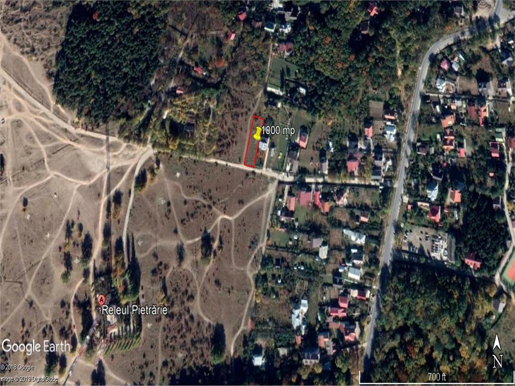 teren 1000 mp, in Iasi , langa  releu Bucium