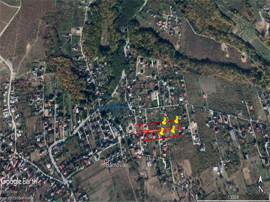 teren in Barnova , pentru constructie casa