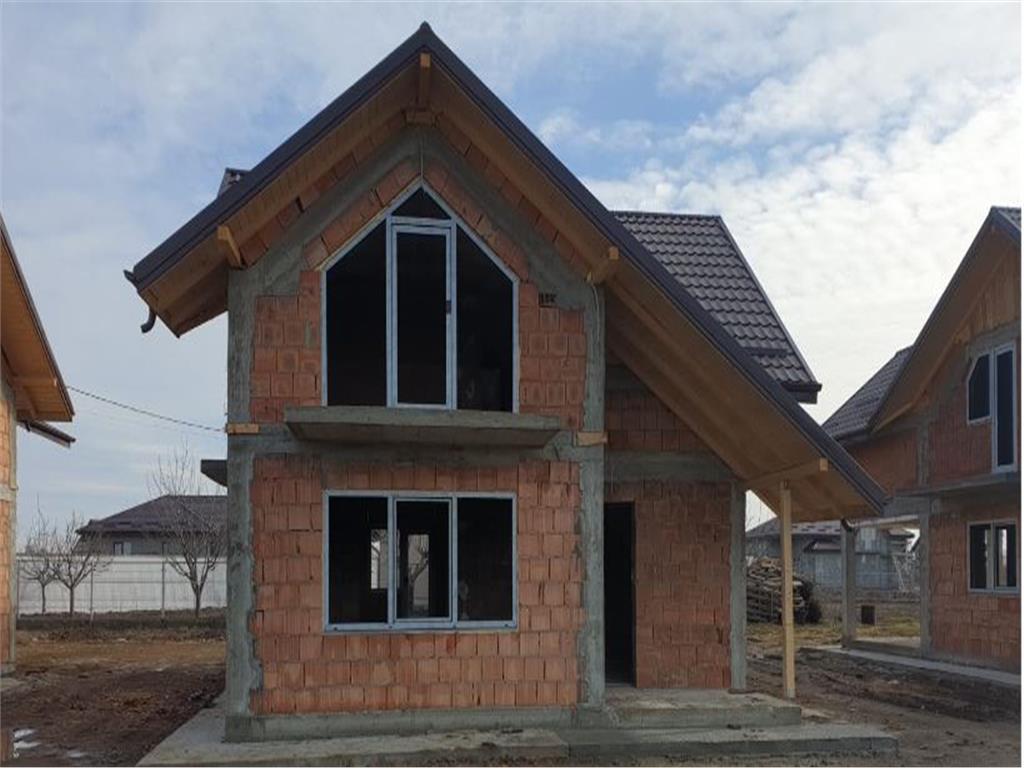 Proiect nou premium de case single P+M Miroslava, incalzire in pardoseala.