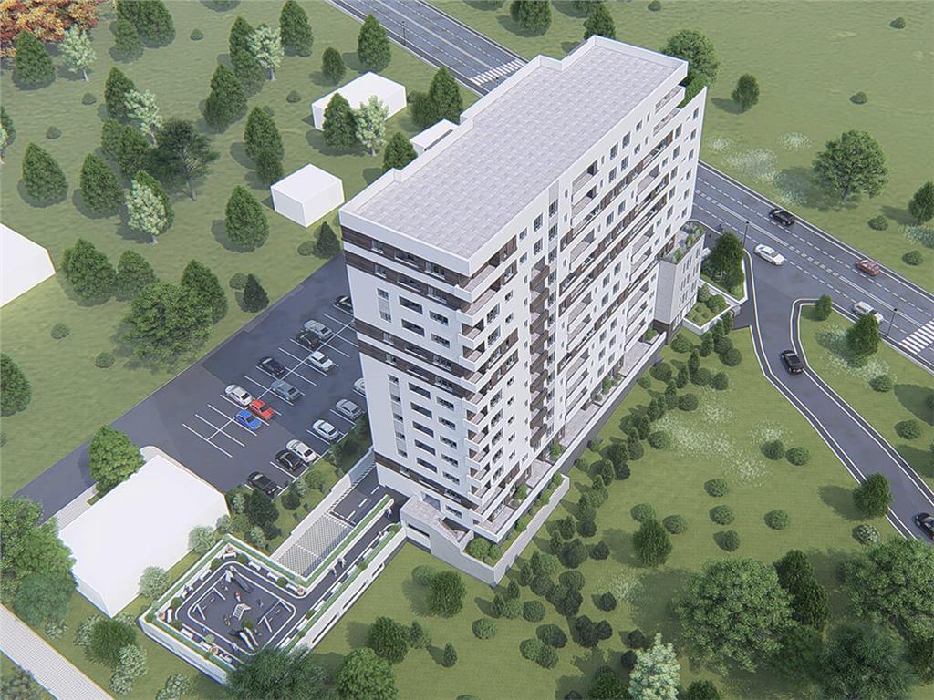Ap 3 camere, bloc nou, 82.68 mp, Tatarasi  Aurel Vlaicu