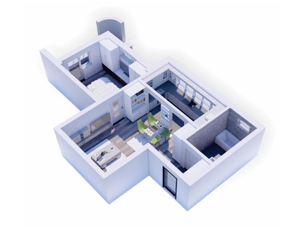 De vanzare,Apartament 2 camere, 53.30mp, Bucium