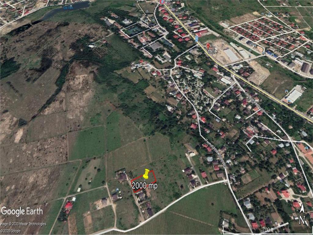 teren, 2000 mp, pentru constructie case in  Iasi zona  Bucium