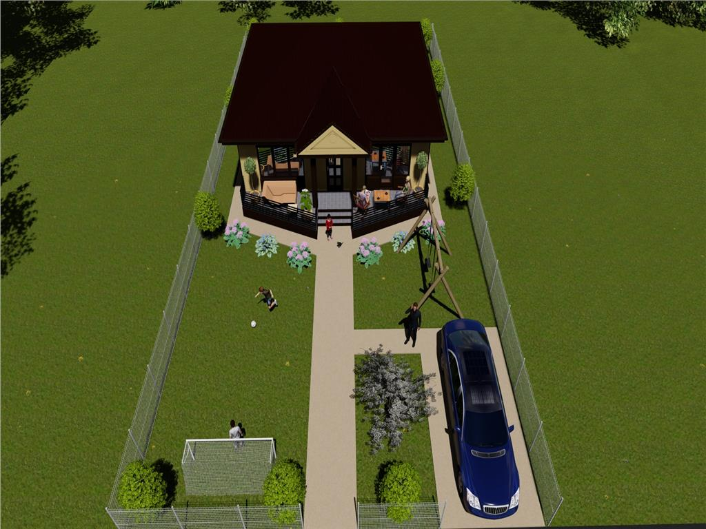 Casa single finalizare imediata Breazu  Padurea Marzesti