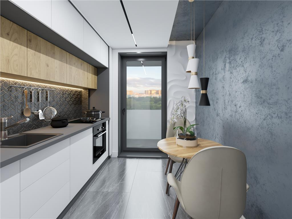 De vanzare, Apartament 2 camere,60 mp, Poitiers