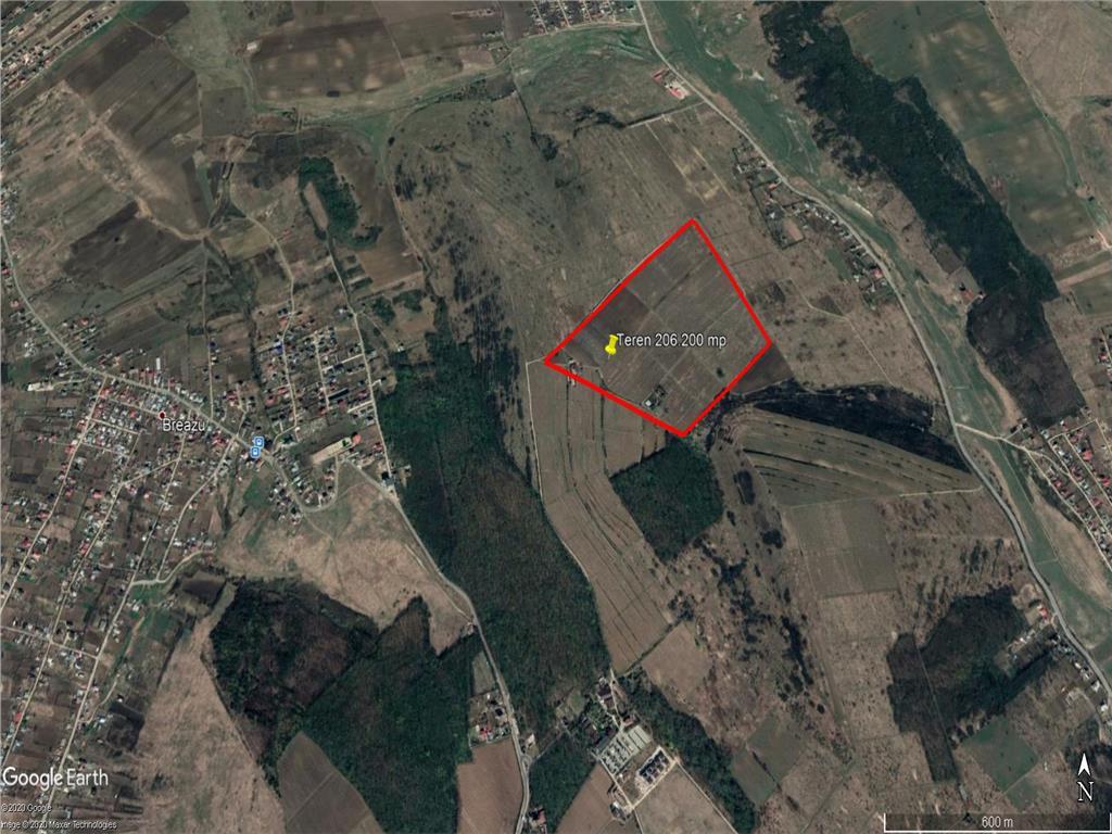 Vanzare teren intravilan 206.200 mp Copou, Aleea Mihail Sadoveanu