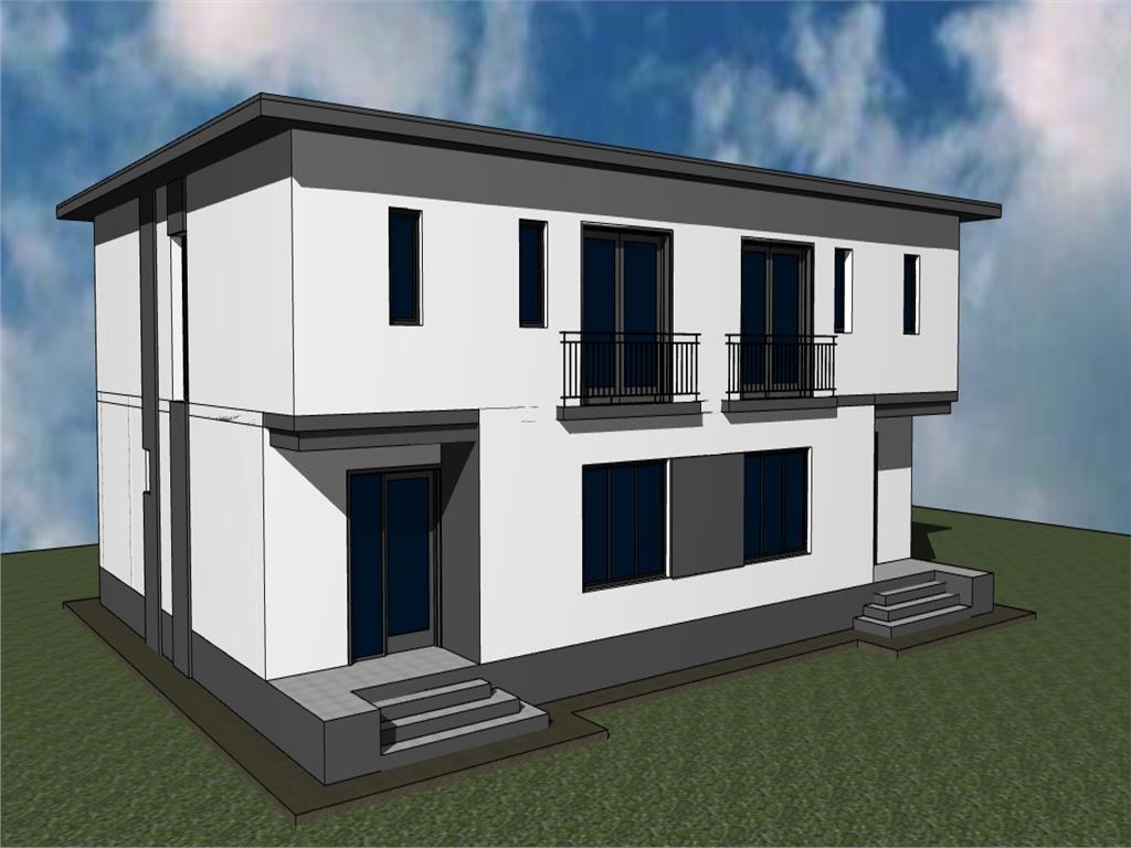 Casa tip duplex P+E, 4 camere  143 mp, Copou  Al. Sadoveanu
