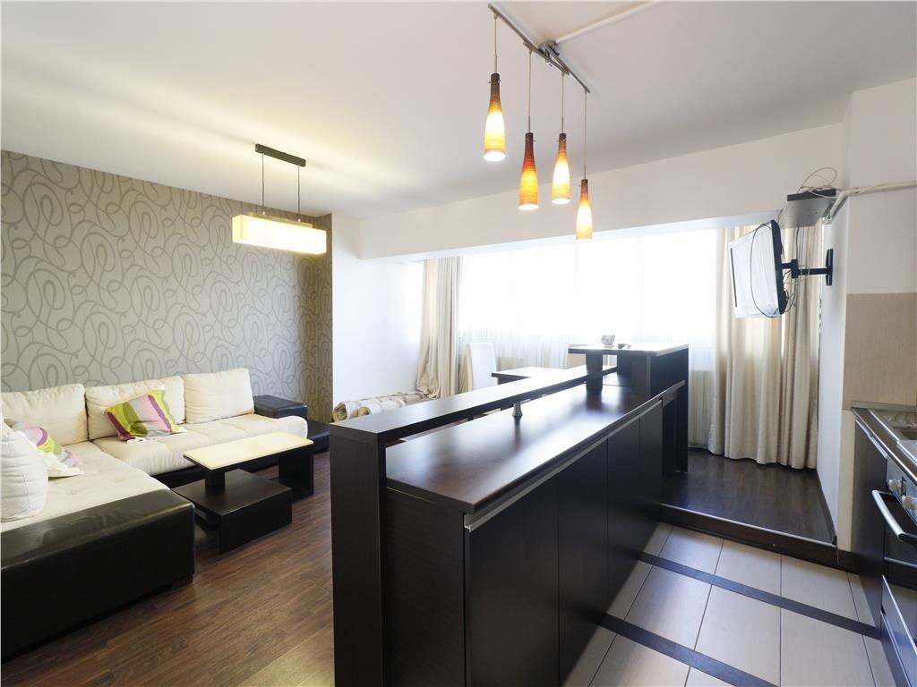 Ap 3 camere, mobilat si utilat modern, Centru  Hala Centrala