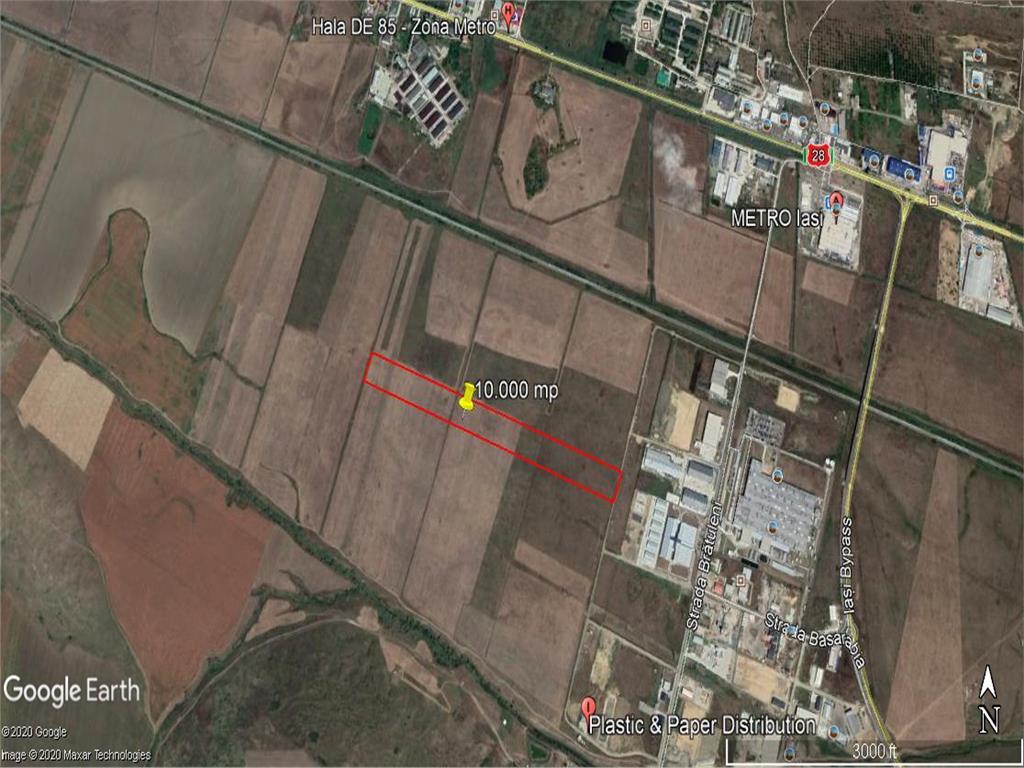 teren  10.000 mp , langa Parcul Logistic Miroslava