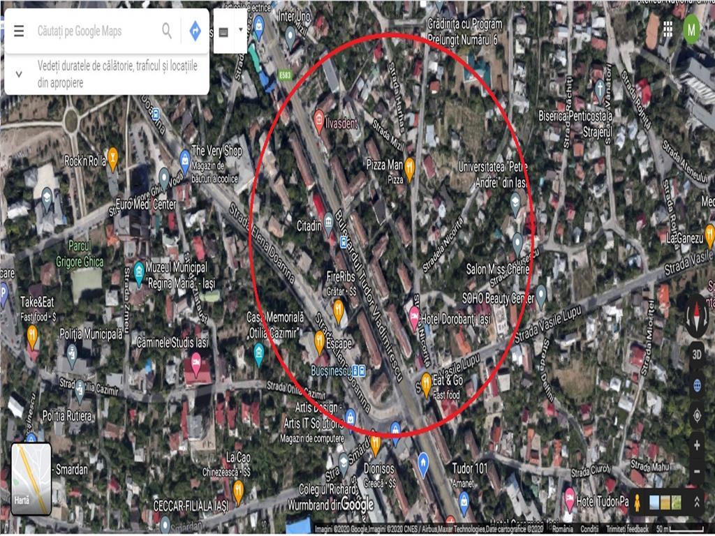 Teren 446 mp, Bucsinescu  Citadin