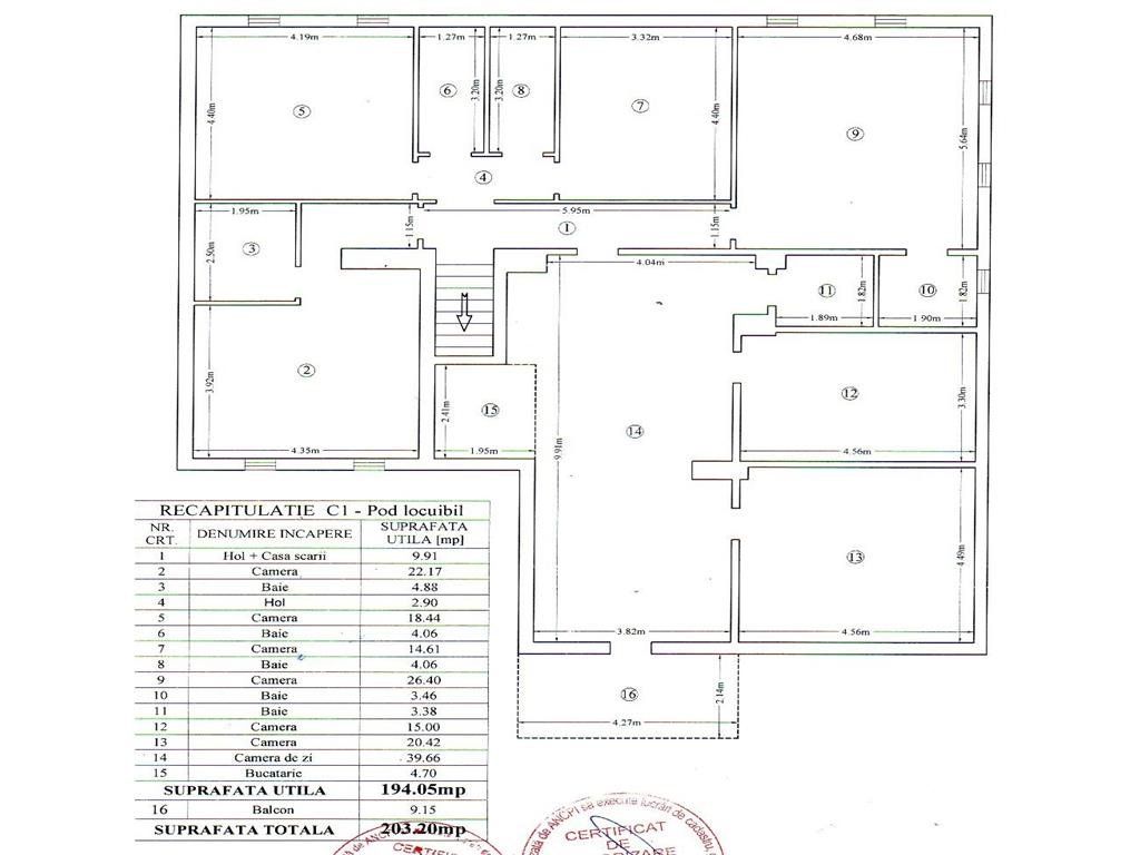 Casa cu arhitectura deosebita in Pacurari