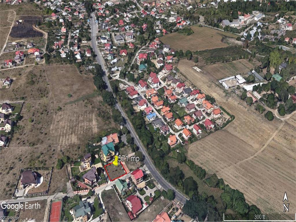 Teren 571 mp ,  Bucium pt constructie casa