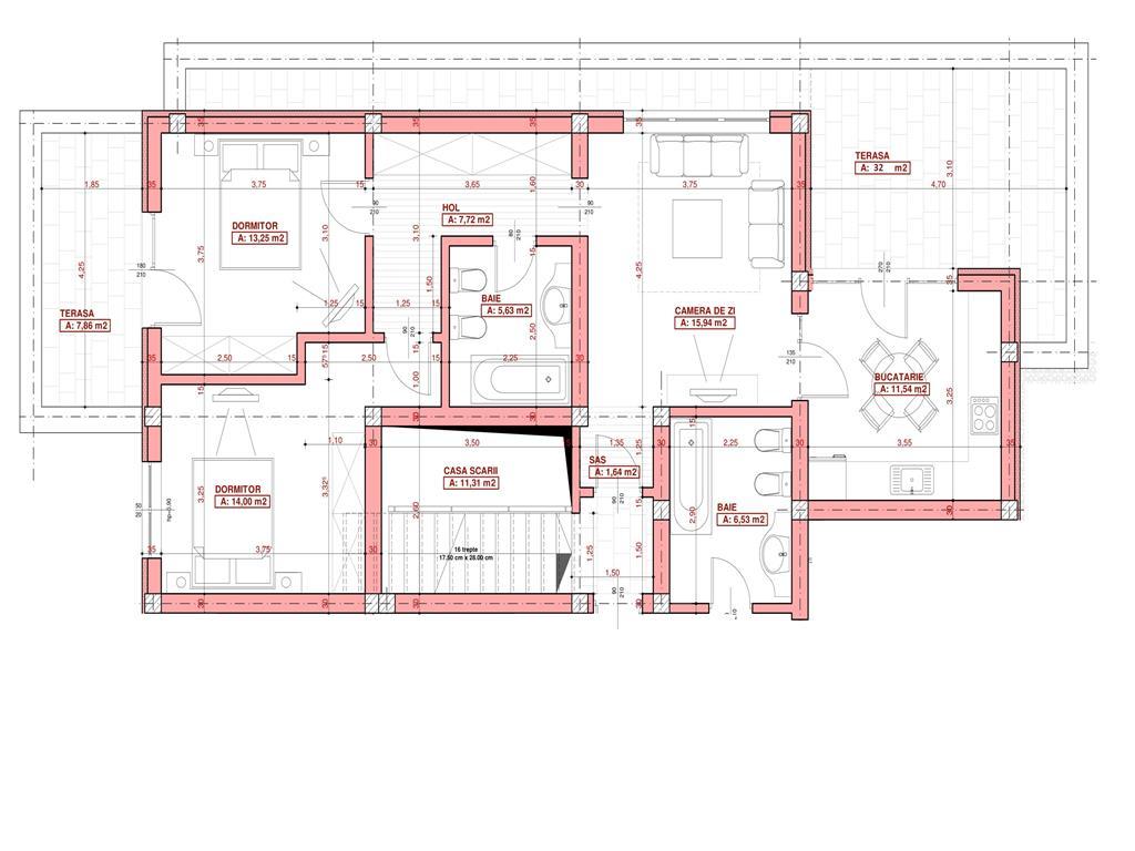 COMISION 0%, Penthouse de vanzare,  110 mp, Bucium