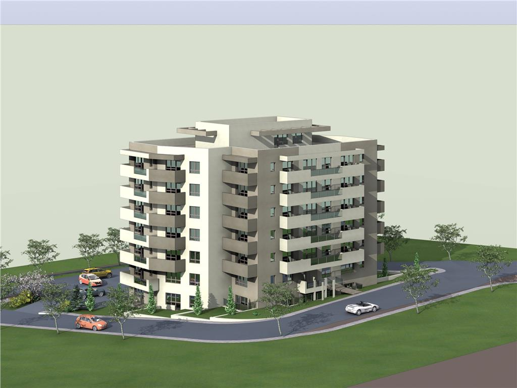 De vanzare, Apartament 2 camere, 54.4mp Utili, Bucium, la 200m Lidl