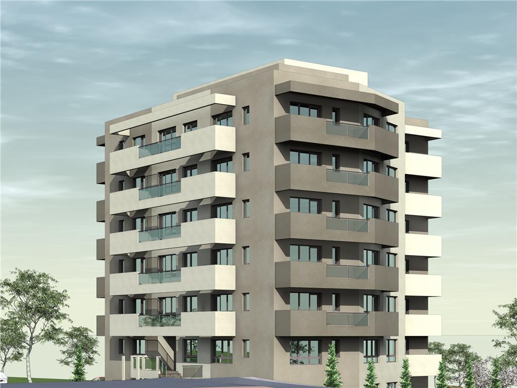 De vanzare, Apartament 2 camere, 51.4mp Utili, Bucium, la 200m Lidl
