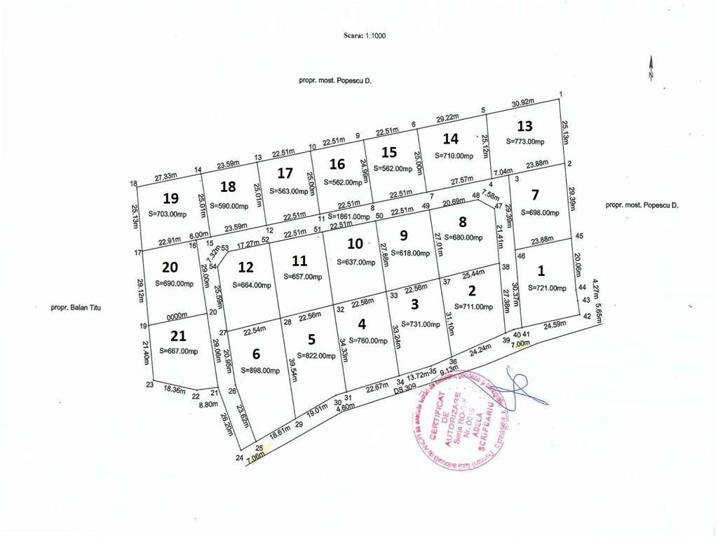 teren pentru constructie casa in  Bírnova  Pietrarie