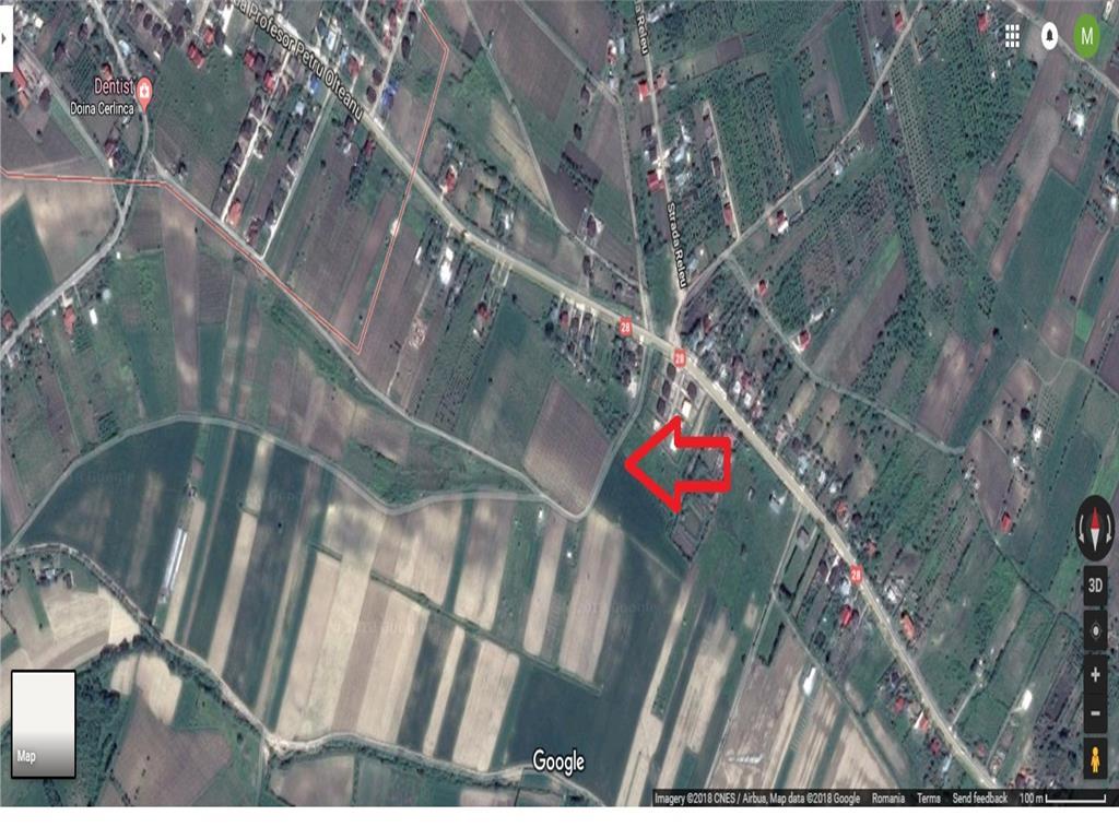 Teren 689 mp, ideal pentru casa, Tomesti  Podu Vatafului