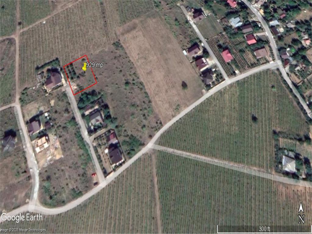 teren, 929  mp, pentru constructie casa in  Iasi zona  Bucium