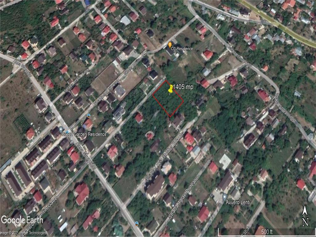teren Iasi , 1405 mp , Aleea Strugurilor