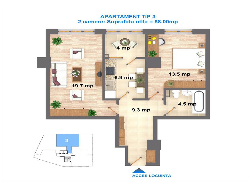 Apartament 60 mp дубай отели у моря
