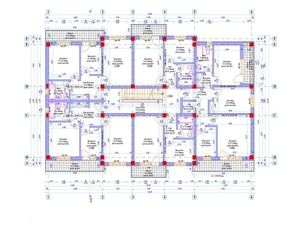 Comision 0% Apartament 2 camere, 54.7 Mp, zona Nicolina
