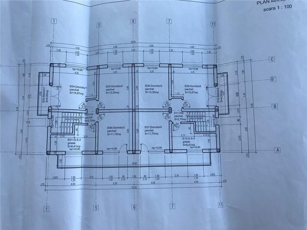 Csa tip duplex, 127 mp utili+ 280mp teren, Bucium