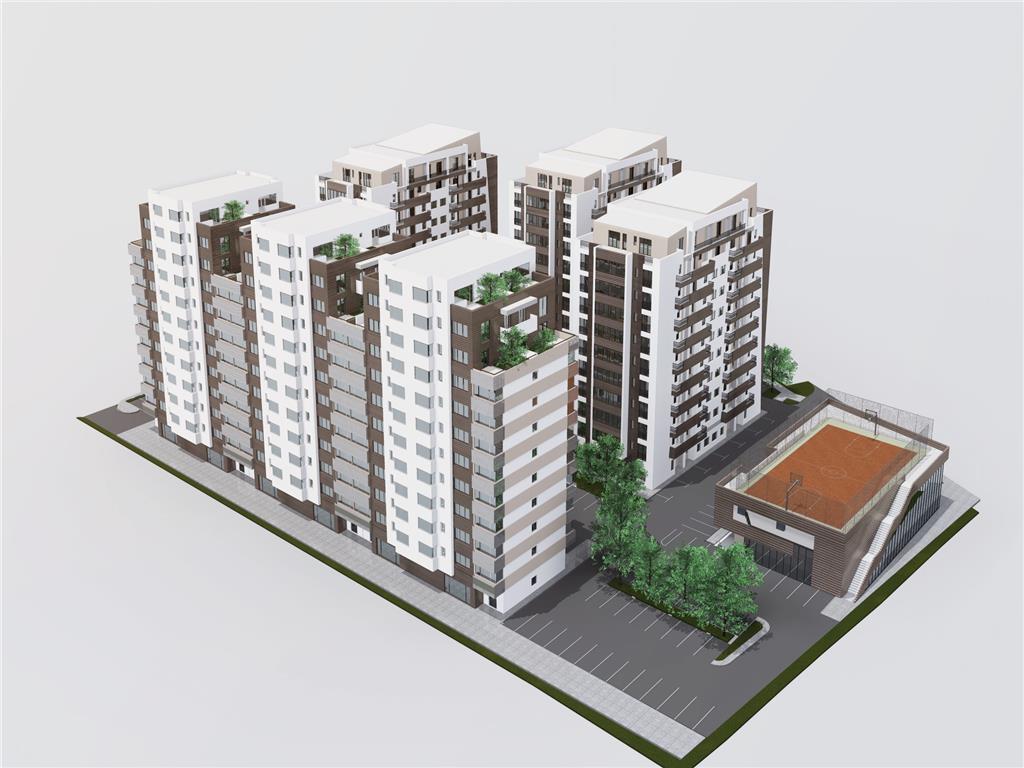 COMISION 0, Apartament 3 camere, 95 mp utili + 73 mp terasa,Tatarasi