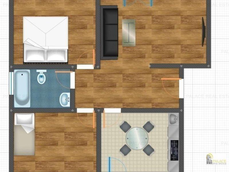 Apartament nou de vanzare, 3 camere ,70 MP, Pacurari  Rond Era