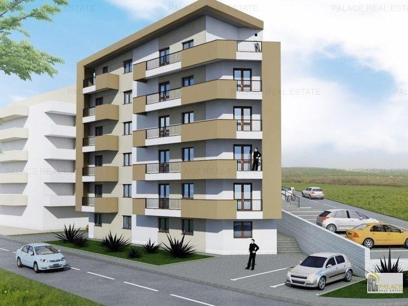 Apartament nou de vanzare, 2 camere, 54 MP  Pacurari