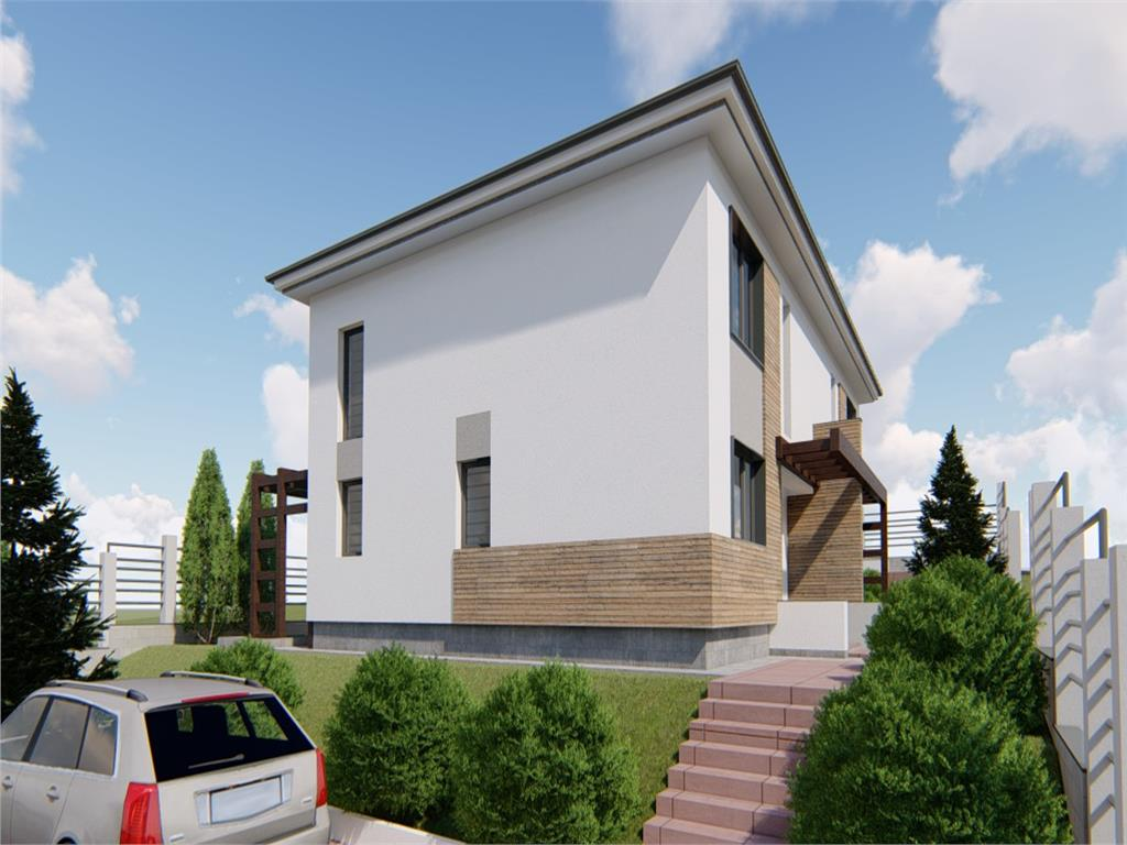 Casa de vanzare, 110 mp Utili + 280 mp teren,Bucium