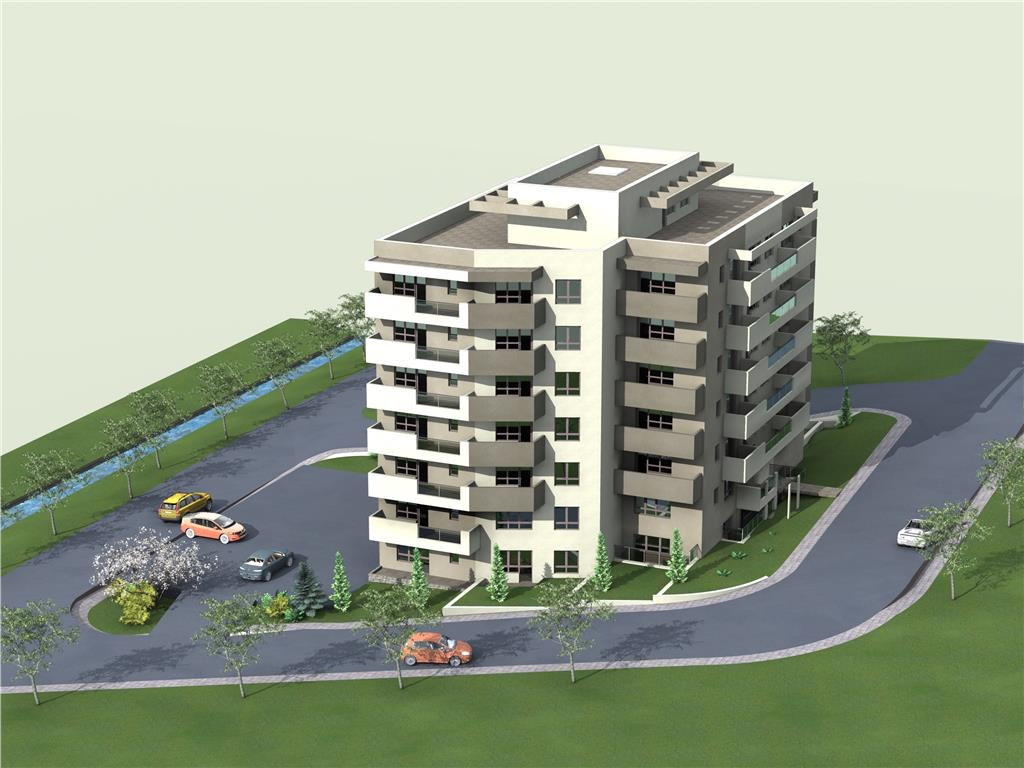 Tip 5, Apartament 2 camere, 51.6 mp , I.C. Bratianu Residence II