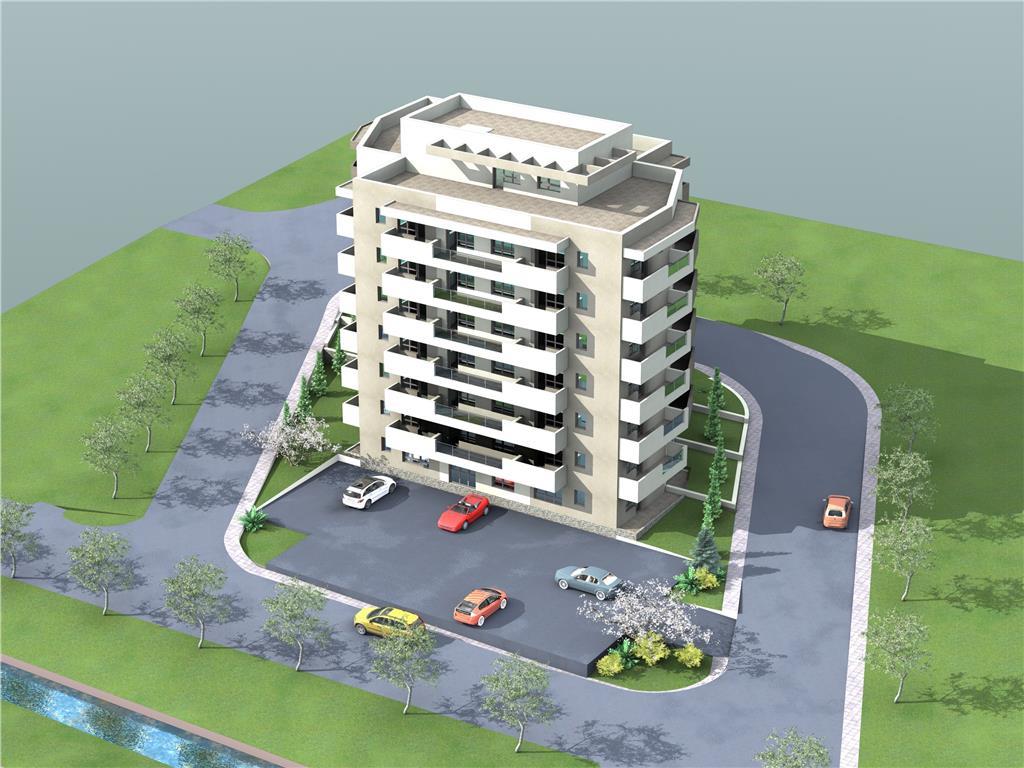 Tip 8, Apartament 2 camere, 46.9 mp , I.C. Bratianu Residence II