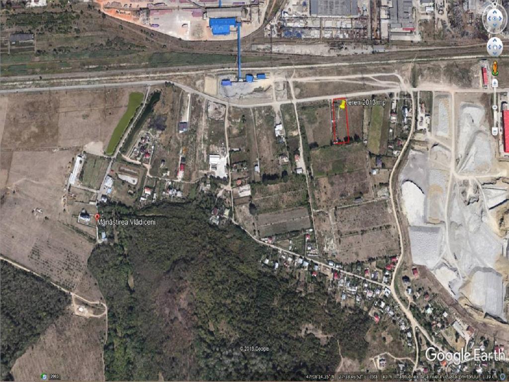 Teren 2013 mp Iasi, Str. Trei Fantani   ideal pentru hala industriala