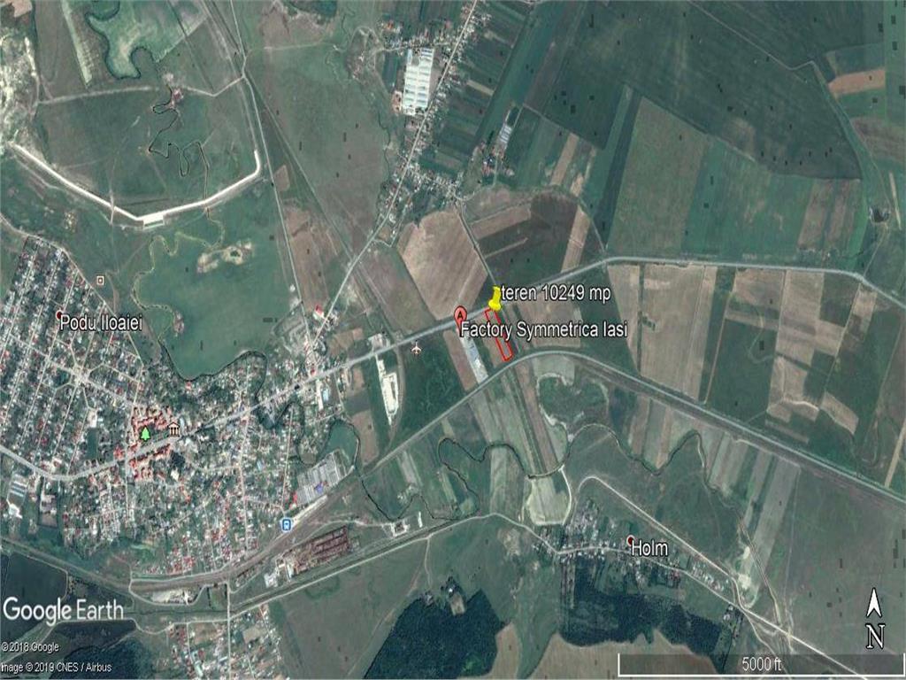 teren 10249 mp intravilan deschidere la   E85