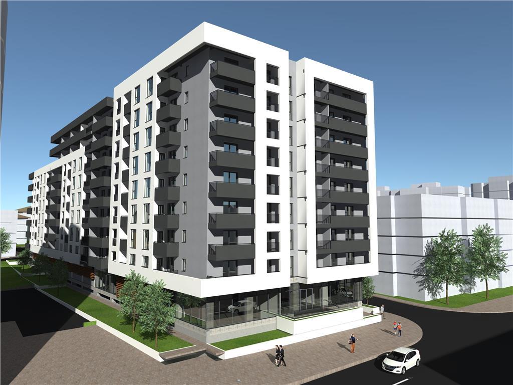 Ap 2 camere, bloc nou, 50.5 mp, Centru  Gara(Str. Arcu)