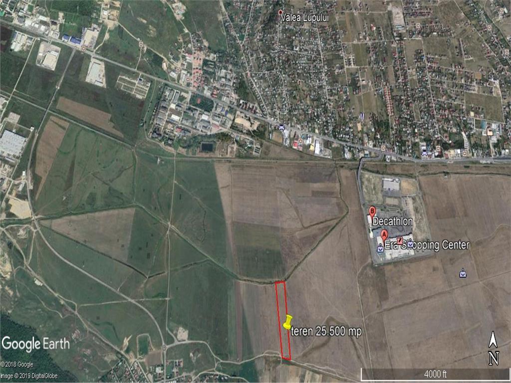 teren  25.500 mp langa Carrefour Era