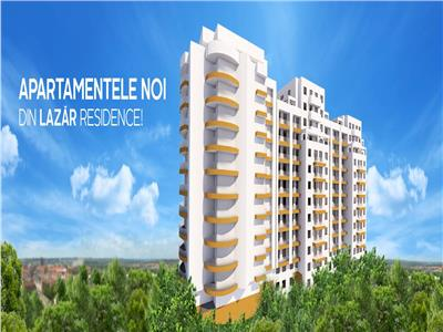 Apartament 3 camere, bloc nou, 55.10 mp, Centru - Palas